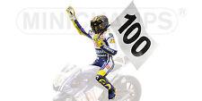 Figurine V.Rossi Moto GP Assen 2009 100 GP Wins 312090176  1/12 Minichamps
