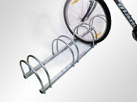 3/4/5 Bike Stand Wall Or Floor Mounted Cycle Rack Bicycle Garage Mount Holder