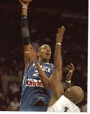 ALEXIS  AJINCA  DALLAS  MAVERICKS/FRANCE   SIGNED 8X10