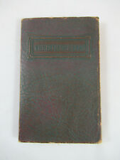 Christmas Bells and Other Selections Longfellow early 1900s Barse Hopkins NY