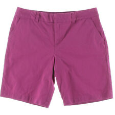NEW Womens Tommy Hilfiger Fuschia Red Twill Bermuda Walking Chino Short AU 6