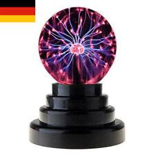 Magische Plasmalampe SphäreLichteffekte Physik Berührungsempfindliche Blitzkugel