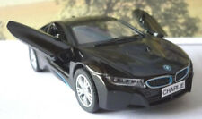 PERSONALISED PLATE GIFT Black BMW i8 Boys Dad Toy Model Car Birthday Present New