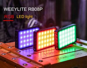 VILTROX Weeylite RB08P RGB Mini LED Video Light 2500K-8500K Fill Light for DSLR
