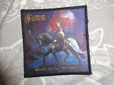 Saxon Patch Heavy Metal Savatage