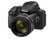 Nikon Coolpix P900 Digitalkamera P 900 schwarz  NEU