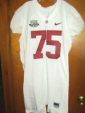VTG Nike 2007 Alabama Crimson Tide Authentic Game Used Worn Football Jersey