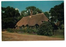 NEW FOREST; COTTAGE;  VINTAGE postcard; unused*pk4
