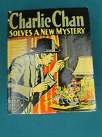 THE BIG LITTLE BOOK - CHARLIE CHAN SOLVES A NEW MYSTERY #1439 1940 - HIGH GRADE!