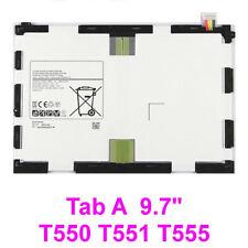 "For Samsung Galaxy Tab A 9.7"" Battery T550 T555 P550 EB-BT550ABE 6000mAh New"