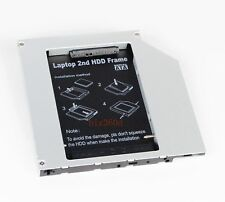 2nd HD SSD Hard Disk Drive Caddy Adapter for MacBook Pro A1181 A1260 A1150 A1211