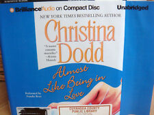 ALMOST LIKE BEING IN LOVE Lost Texas Hearts #2 by Christina Dodd (2013, Unab CD)