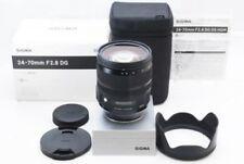 Sigma 24-70 mm F 2.8 DG OS HSM Nikon Mount DG lens full size compatible F/S