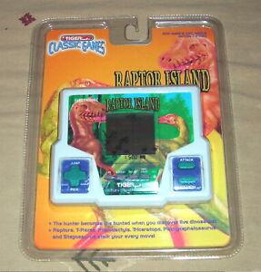 Vintage Tiger Raptor Island Electronic Handheld LCD Game 1997