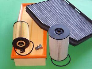 Ölfilter Luftfilter Kraftstofffilter Pollenfilter Skoda Yeti 2.0 TDI 81kW/110PS