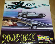 "ZZ Top DoubleBack 12"" Pre Owned Vinyl Excellent Condition"