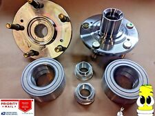Premium Front Wheel Hub And Bearing Kit for Accord 1998-2002 3.0L V6 PAIR TWO
