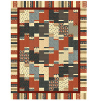 Two rolls and a cake Quilt Pattern by Cozy Quilt Designs