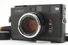 [Optical MINT!!] MINOLTA CLE Rangefinder w/voigtlander nokton classic 40mm f1.4