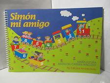 SIMON MI AMIGO CUADERNO PARA NINOS DE 5 ANOS TRANSICION EDUCACION PREBASICA
