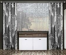 Very Nice Set Curtains And White  Fringe Net Curtain Window Decoration