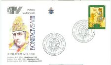 Vatican City Popes of the Jubilee Cover: Boniface VIII, PV1