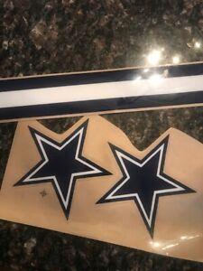 Dallas Cowboys full Size Helmet Decals