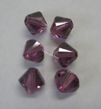 6 Lilac Swarovski Crystal Beads 6mm Bead for Beading & Jewellery Making SWK206