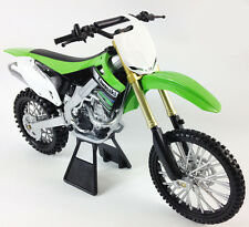 Kawasaki Kx KXF 450 1:12 Die-Cast Motocross Mx Motorbike Toy Model Bike New Ray
