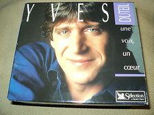 """COFFRET 5 CD """"YVES DUTEIL - UNE VOIX, UN COEUR"""" best of Reader's Digest 100 TITR"""