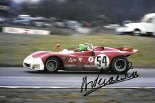 Henri Pescarolo SIGNED , Alfa Romeo T33/3 , Brands Hatch 1000 km 1971