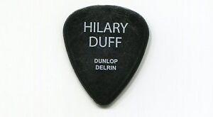 HILARY DUFF 2004 Debut Tour Guitar Pick!!! SHAUN custom concert stage Pick #4