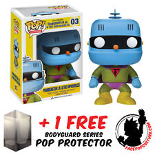 FUNKO POP HANNA BARBERA FRANKENSTEIN JR AND THE IMPOSSIBLES + FREE POP PROTECTOR