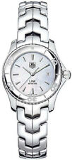 QUARTZ WATCHES SPECIAL TAG HEUER LADIES LINK WJ1313.BA0572 MOTHER OF PEARL WATCH