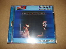 Anthony B. & JUNIOR Timba-Nazarene Vow/CD/1999/OVP, SEALED/reggae/BB