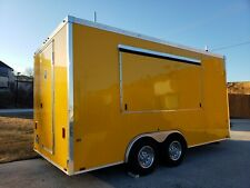 """Used8'6"""" x 16Food Mobile Kitchen Concession Trailerin nice condition"""