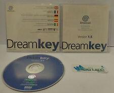 Gioco Game Console Play SEGA DREAMCAST Utility Internet CD DREAM KEY VERSION 1.5