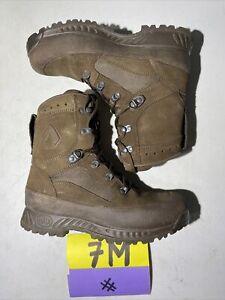 British Army Issue Haix High Liability Desert Combat Boots Size 7 M Bushcraft