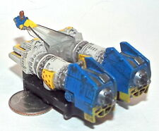 Small Micro Machine Plastic Star Wars Pod Racer with Blue Engines