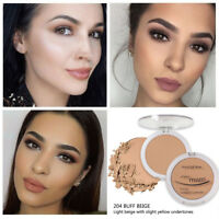 PHOERA Oil ControlFoundation Face Pressed Powder  Hydrating Powder Cosmetic