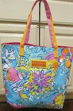 Lilly Pulitzer for Estee Lauder Tote Bag Bright Colors Fruity & Floral Design