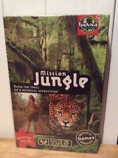 MISSION  JUNGLE - Bioviva Board Game Nature and Adventure 2-6 players Ages 7-77