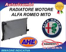 RADIATORE MOTORE AHE ALFA ROMEO MITO 1.6 JTDM 16V 88KW DAL 8/2008 IN POI