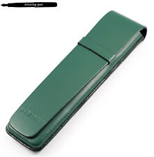 Sheaffer Leather Case / Etui for 1 or 2 Pens in Green