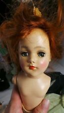"""ORIGINAL MARY HOYER DOLL RED HAIR DOLL CASE & CLOTHING 14"""""""