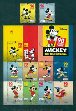 PORTUGAL 2018 MICKEY - 90 YEARS * 2 STAMPS+1 BLOCK MNH ISSUED 14/09