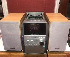Panasonic CD Stereo Mini System SA-PM193 MP3, 5CD Changer, AM/FM Tuner, Cassette