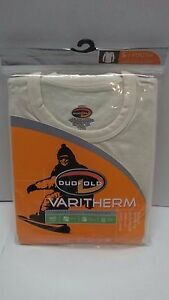Duofold Varitherm High Activity Protection Youth Small Long Sleeve Crew-Cream