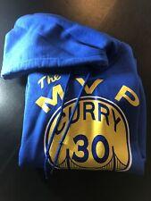 "Steph Curry Golden State Warriors ""THE MVP"" jersey SWEATSHIRT HOODIE"