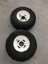 2011 Kawasaki Bayou 250 Front Wheel Set Rims Tires 220 21x8-9 4/110 21 8.00 9
